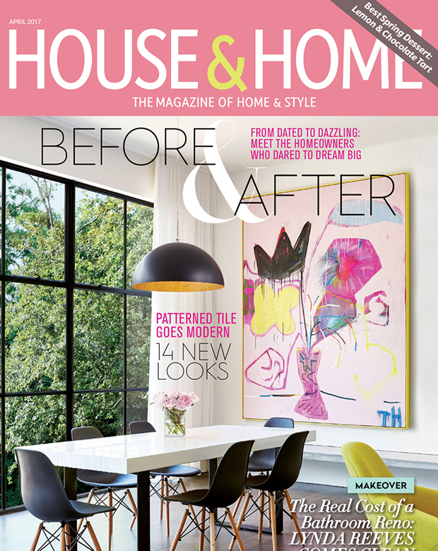 HOUSE U0026 HOME Cover And Featured Article. U201c